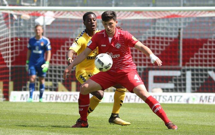 37. Spieltag 17/18: Würzburger Kickers - Sonnenhof Großaspach - Bild