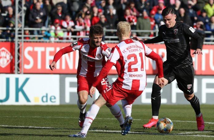 23. Spieltag 19/20: Würzburger Kickers - FC Ingolstadt 04 - Bild
