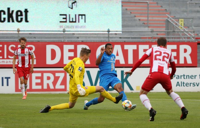31. Spieltag 19/20: Würzburger Kickers - Carl Zeiss Jena