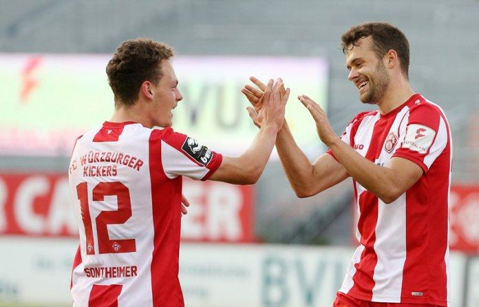 33. Spieltag 19/20: Würzburger Kickers - 1. FC Kaiserslautern