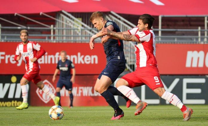 33. Spieltag 19/20: Würzburger Kickers - 1. FC Kaiserslautern - Bild