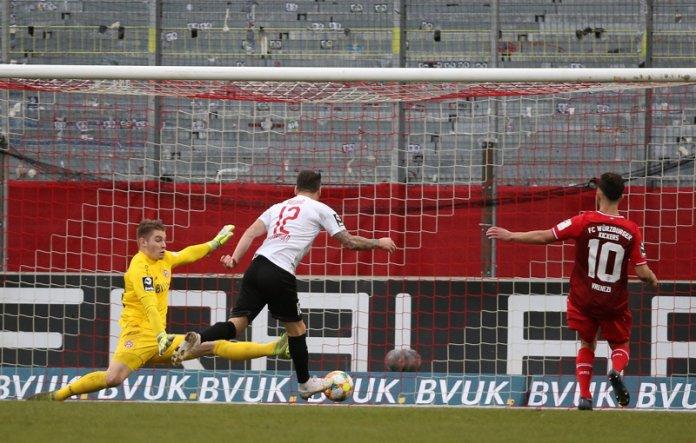 18. Spieltag 19/20: Würzburger Kickers - Viktoria Köln - Bild
