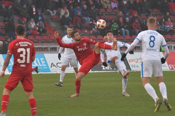19. Spieltag 18/19: Würzburger Kickers - Sportfreunde Lotte