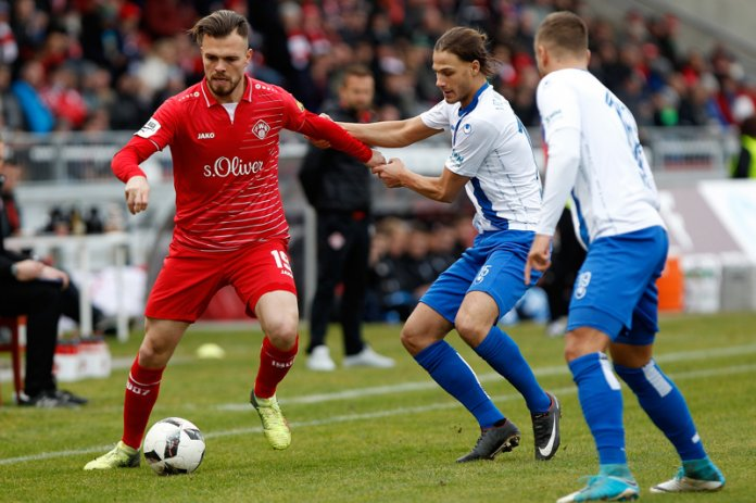 23. Spieltag 17/18: Würzburger Kickers - 1. FC Magdeburg