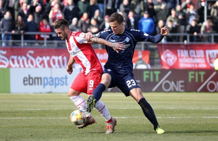 27. Spieltag 19/20: Würzburger Kickers - SV Waldhof Mannheim