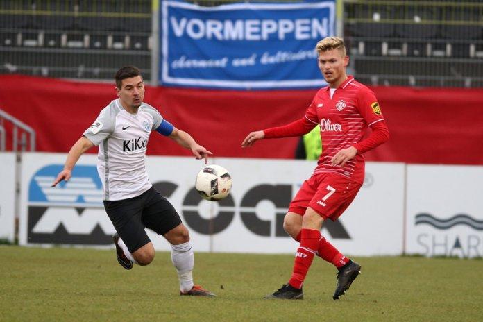 20. Spieltag 17/18: Würzburger Kickers - SV Meppen