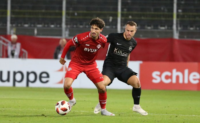 9. Spieltag 18/19: Würzburger Kickers - SV Meppen - Bild