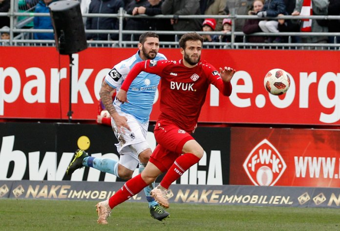 29. Spieltag 18/19: Würzburger Kickers - TSV 1860 München - Bild