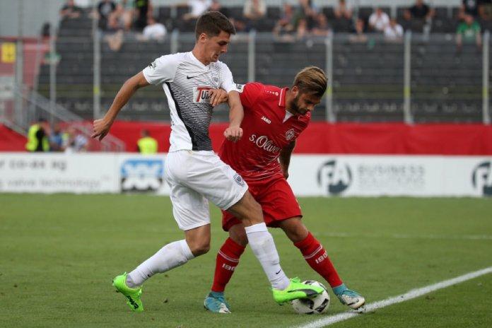 3. Spieltag 17/18: Würzburger Kickers - Preußen Münster - Bild