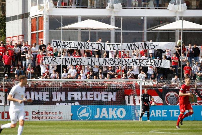 31. Spieltag 18/19: Würzburger Kickers - Preußen Münster - Bild