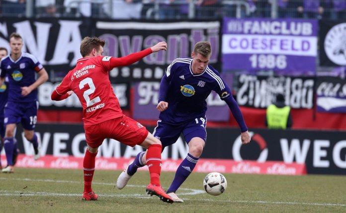 29. Spieltag 17/18: Würzburger Kickers - VfL Osnabrück
