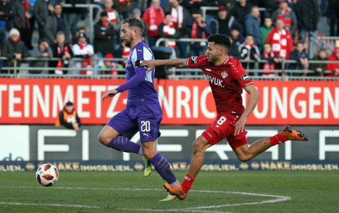 20. Spieltag 18/19: Würzburger Kickers - VfL Osnabrück - Bild