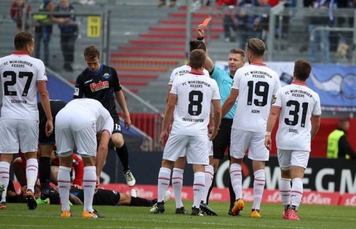 Paderborn feiert kuriosen Sieg in Würzburg – Spielbericht + Bilder