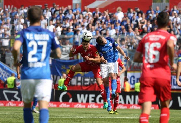 5. Spieltag 17/18: Würzburger Kickers - Hansa Rostock