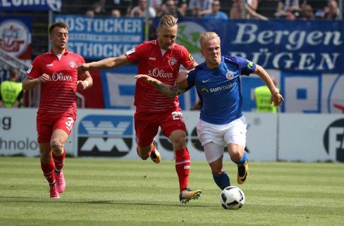 24. Spieltag; Hansa Rostock – Würzburger Kickers