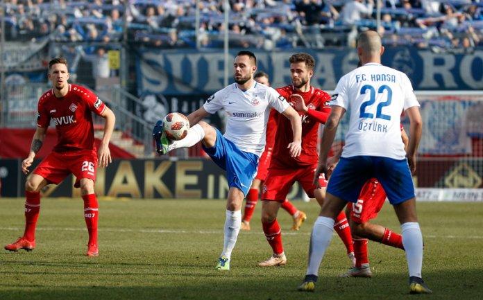 24. Spieltag 18/19: Würzburger Kickers - Hansa Rostock