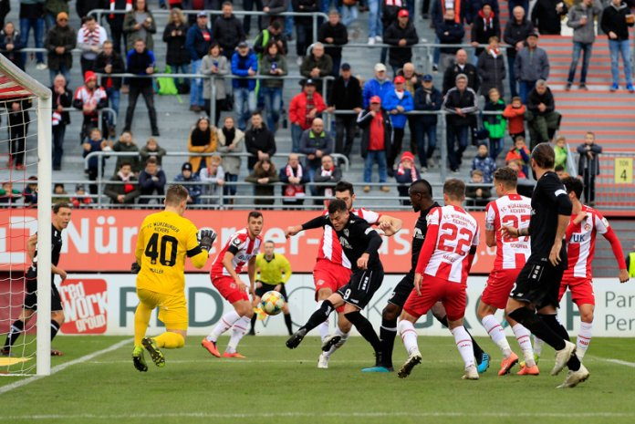 16. Spieltag 19/20: Würzburger Kickers - KFC Uerdingen 05