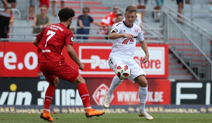 2. Spieltag 18/19: Würzburger Kickers - KFC Uerdingen 05