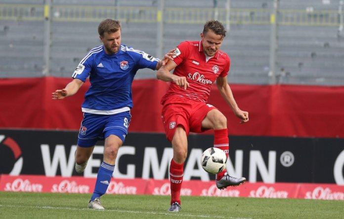 Unterhaching gewinnt Derby in Würzburg – Spielbericht + Bilder