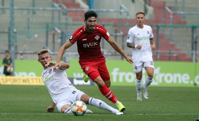 2. Spieltag 2019/20: Würzburger Kickers - SpVgg Unterhaching