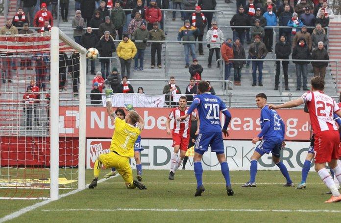 21. Spieltag 19/20: Würzburger Kickers - SpVgg Unterhaching - Bild