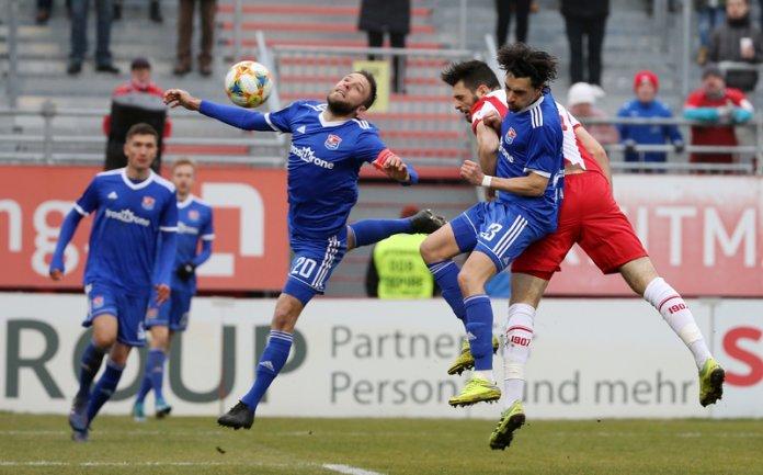 21. Spieltag 19/20: Würzburger Kickers - SpVgg Unterhaching