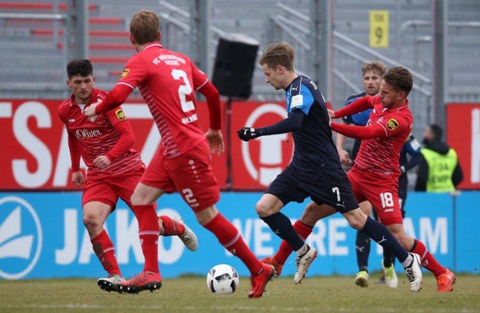 25. Spieltag 17/18: Würzburger Kickers - FSV Zwickau