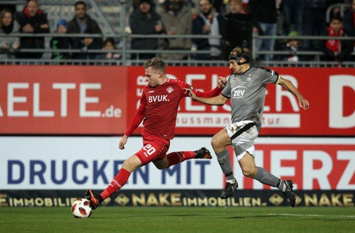 15. Spieltag 18/19: Würzburger Kickers - FSV Zwickau - Bild