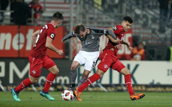 15. Spieltag 18/19: Würzburger Kickers - FSV Zwickau