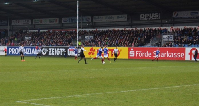21. Spieltag 16/17: Holstein Kiel - VfR Aalen