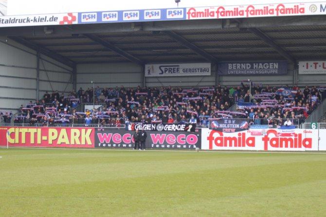 Geldstrafe für Holstein Kiel
