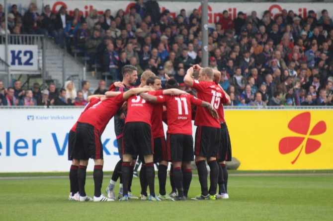 1. Spieltag; VfR Aalen - Chemnitzer FC