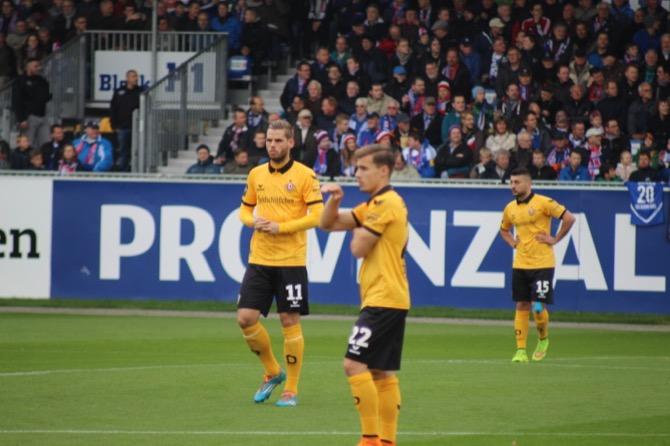 15. Spieltag; Dynamo Dresden - 1. FC Magdeburg