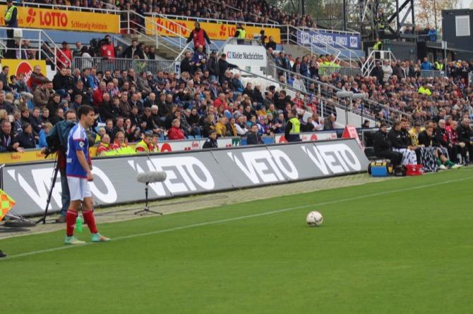 15. Spieltag; SC Preußen Münster - Holstein Kiel