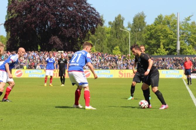 1. Spieltag; Stuttgarter Kickers - Fortuna Köln