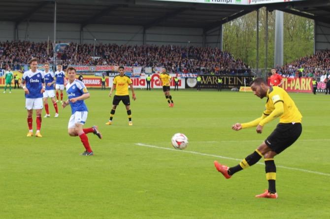38. Spieltag; SSV Jahn Regensburg - Fortuna Köln