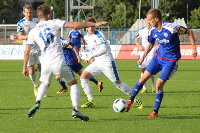 22. Spieltag; Sportfreunde Lotte – Holstein Kiel