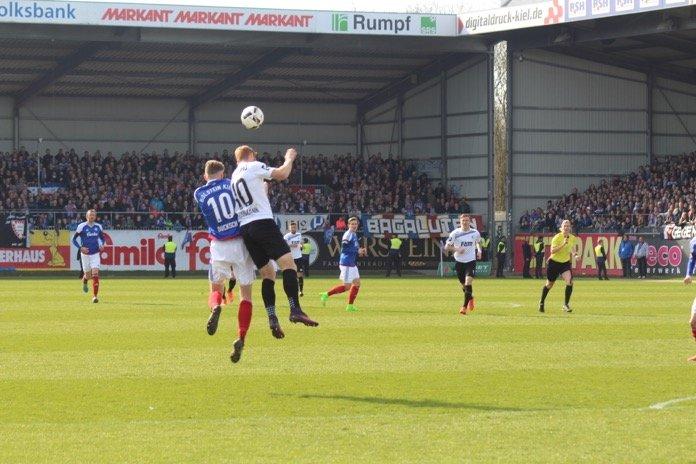 Czichos rettet den Punkt für Kiel – Spielbericht + Bilder