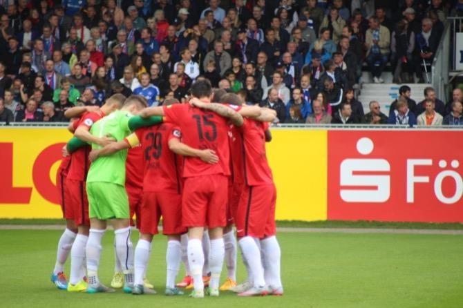 10. Spieltag; FC Hansa Rostock - 1. FC Magdeburg