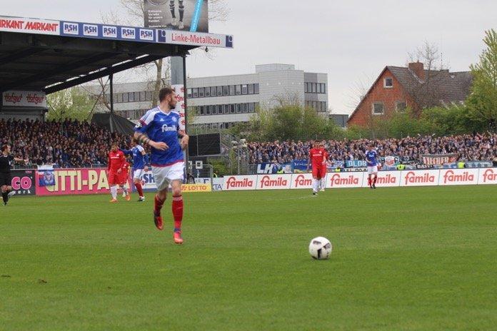 36. Spieltag 16/17: Holstein Kiel - Hansa Rostock