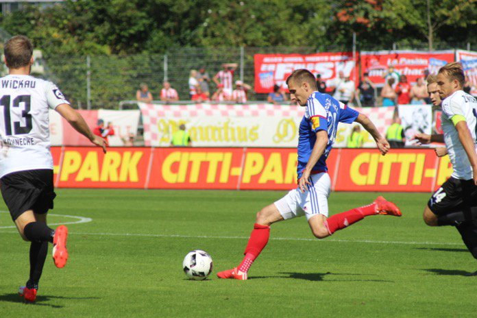 5. Spieltag 16/17: Holstein Kiel - FSV Zwickau