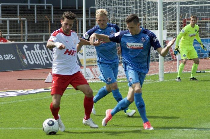 1. Spieltag 17/18: Fortuna Köln - VfR Aalen