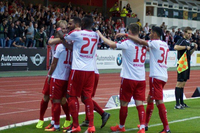 Fortuna Köln zumindest bis Samstag Tabellenführer – Spielbericht + Bilder