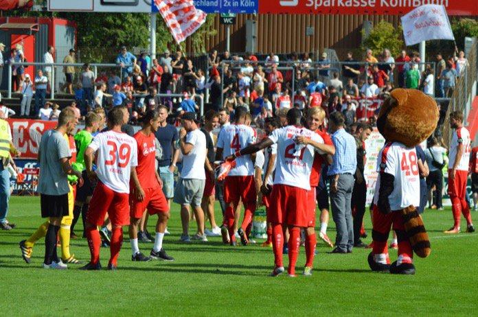 15. Spieltag; Fortuna Köln – FSV Zwickau
