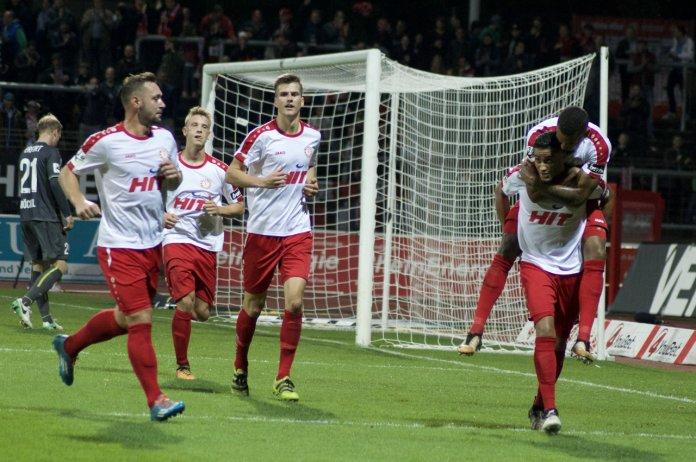 12. Spieltag 17/18: Fortuna Köln - Rot-Weiß Erfurt
