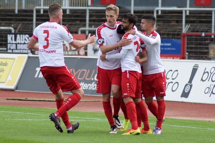 Verdientes Remis zwischen Köln und Halle – Spielbericht + Bilder