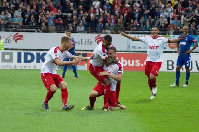 5. Spieltag 17/18: Fortuna Köln - Karlsruher SC - Bild