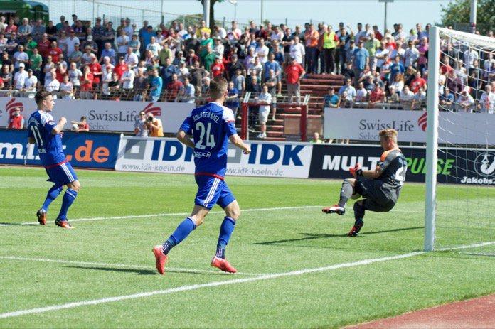 4. Spieltag 16/17: Fortuna Köln - Holstein Kiel
