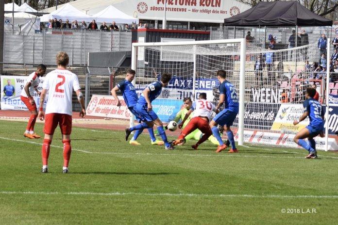 32. Spieltag 17/18: Fortuna Köln - SV Meppen