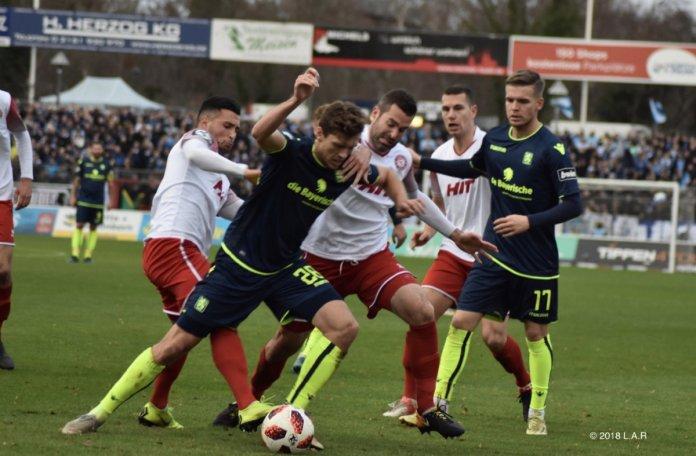 18. Spieltag 18/19: Fortuna Köln - TSV 1860 München - Bild